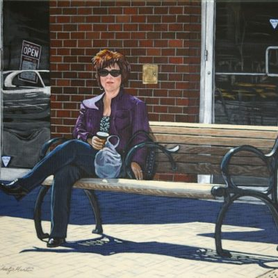 The Shopper (Lauren at Farmers Market - Saskatoon)
